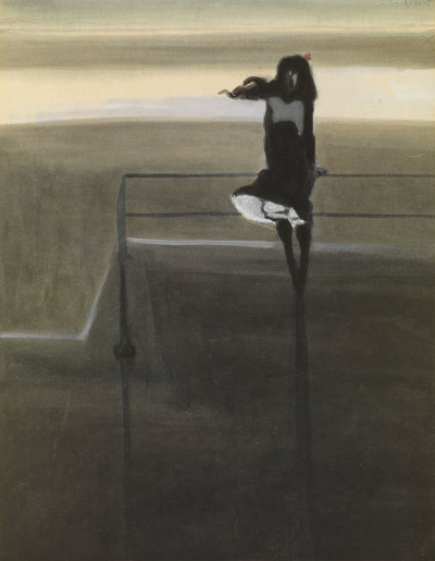 Léon Spilliaert, The Gust of Wind, 1904.